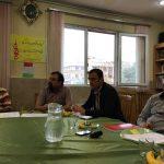 جلسه هیأت محترم داوران ششمین سمینار علمی دانش آموزی - شنبه ۲۶ فروردین ماه ۹۶